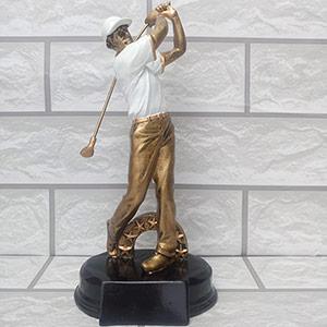Cúp Kim Loại hình Golfer - CV-001